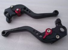 Ducati HYPERMOTARD 796 (10-12), CNC levers short black/red adjusters, DB12/D22